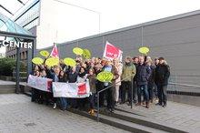 Gehaltsrunde BARMER, Streik am 13.01.2020